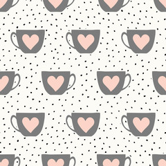 Cute Cups Pattern