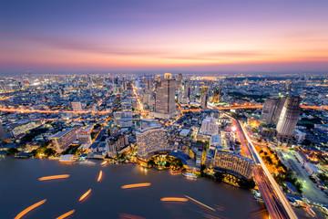 Bangkok city skyscaper.