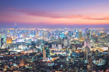 Bangkok city skyscraper.