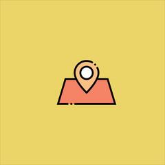 placeholder icon flat design