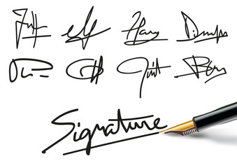 Signature - Contrat - Signer - Stylo - Accord