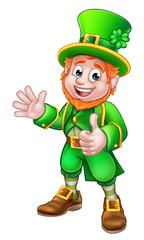 Thumbs Up Leprechaun St Patricks Day Character