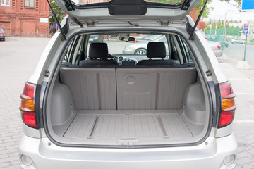 Trunk Luggage Compartment