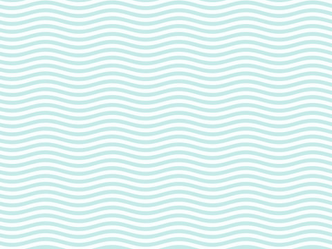 Turquoise or light blue wavy pattern simple