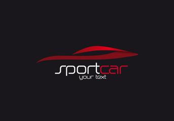 Logo vendita auto sportive