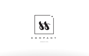 ss s s hand writing letter company logo icon design