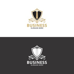 Business logo in vector