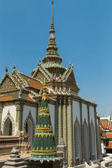 Phra Sawet Kudakhan at the Temple of the Emerald Buddha (Wat Phra Kaew), Grand Palace complex, Bangkok, Thailand