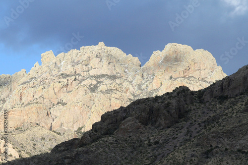 mountains at dripping springs natural area near las cruces new