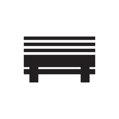 bench icon illustration