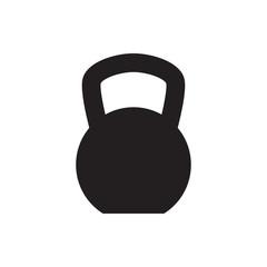 kettle bell icon illustration