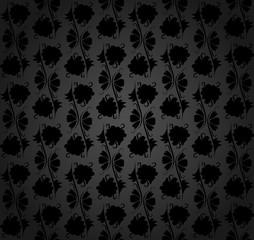 Simple flower pattern.