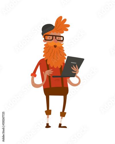Character Design Job Openings : Quot creative hipster character business design studio