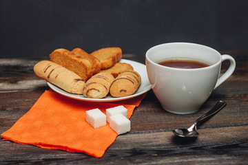 biscuit refined coffee cup