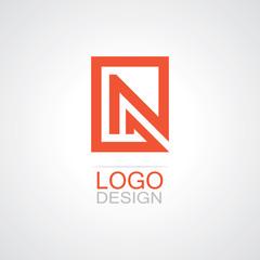 square letter N logo