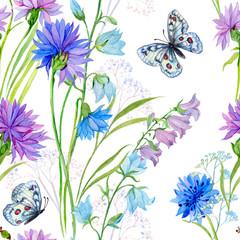 seamless pattern .flowers