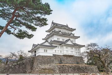 小田原城の風景