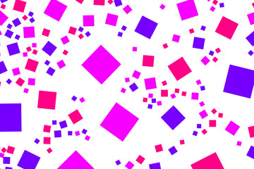 Abstract background with random boxes. Pattern for digital concept.