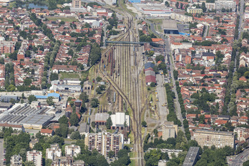 Osijek from the air