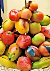 Dolcetti di marzapane a forma di frutta