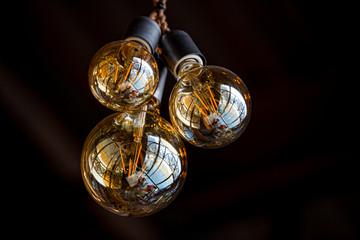 Tungsten lamp for interior