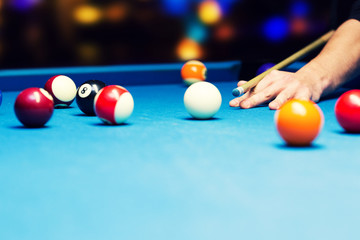 bar games - pool billiard