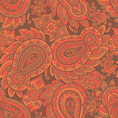 Paisley Damask ornament