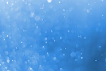 Bokeh Backgrounds color blue