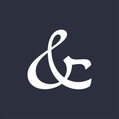 Ampersand vector illustration