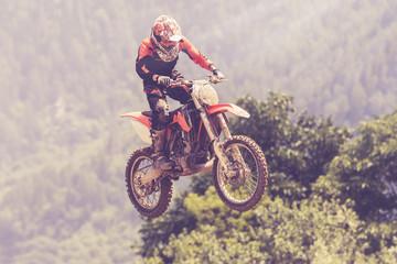 Fototapete - salto con moto