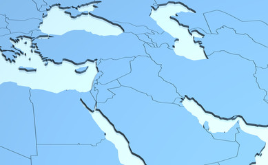 Middle East 3D