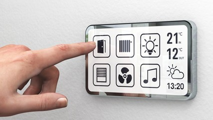 Smart Home touchscreen - Version 2