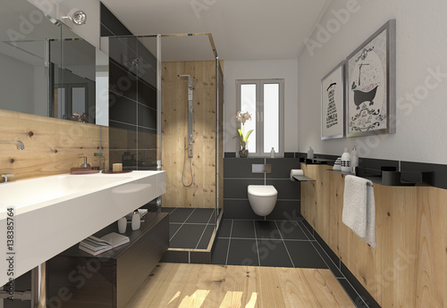 klein raffiniert modern bad badezimmer duschbad minibad. Black Bedroom Furniture Sets. Home Design Ideas