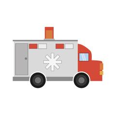 ambulance transport emergency icon vector illustration eps 10