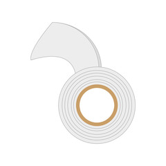 adhesive bandage roll medical vector illustration eps 10