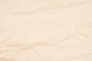 Beige fabric texture. Easy transparent fabric for backgrounds