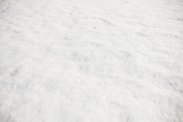 Background of white pure snow