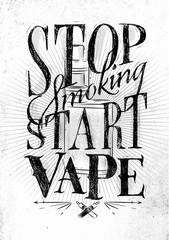 Poster start vape