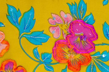 texture silk cloth