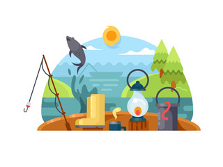 Recreation on fishing