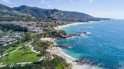 Laguna Beach Coastline, Southern California
