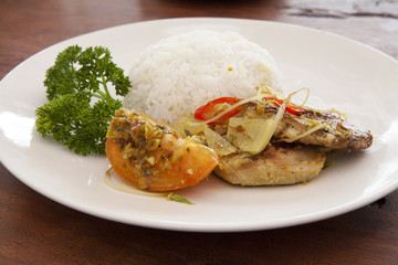 Balinese Fish Curry