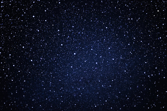 starry in the night sky use as background