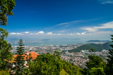 Penang from above