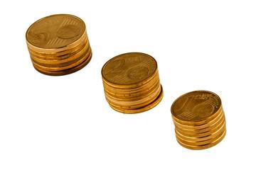 münze, münzen, münzgeld freigestellt, freisteller, euro, eurogeld, euromünzen,