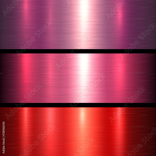 """Metal red texture background, brushed metallic texture ..."