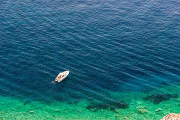 Elba island sea near Pomonte