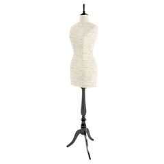 Mannequin isolated on a  white background