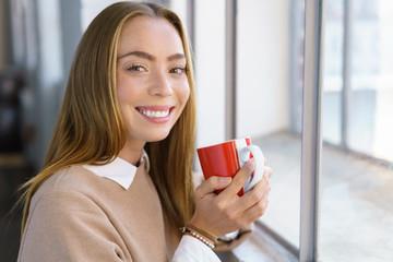 kleine auszeit mit einer tasse tee