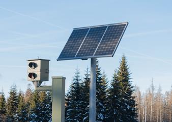 Radarfalle mit Solar Modu